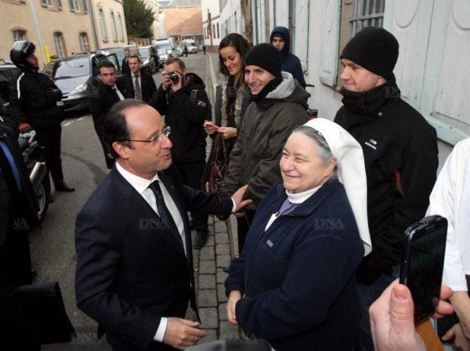 Rencontre des Diaconesses avec le Président François Hollande