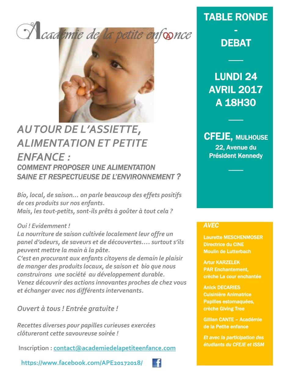 Alimentation petite enfance Mulhouse