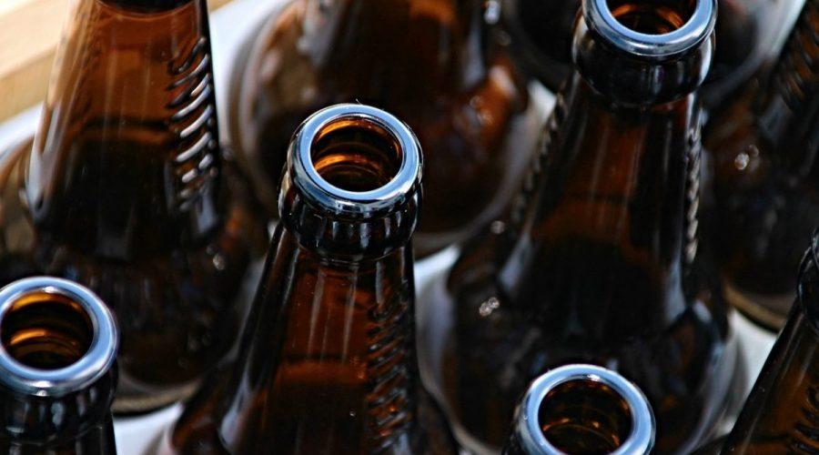 Consigne des bouteilles en verre