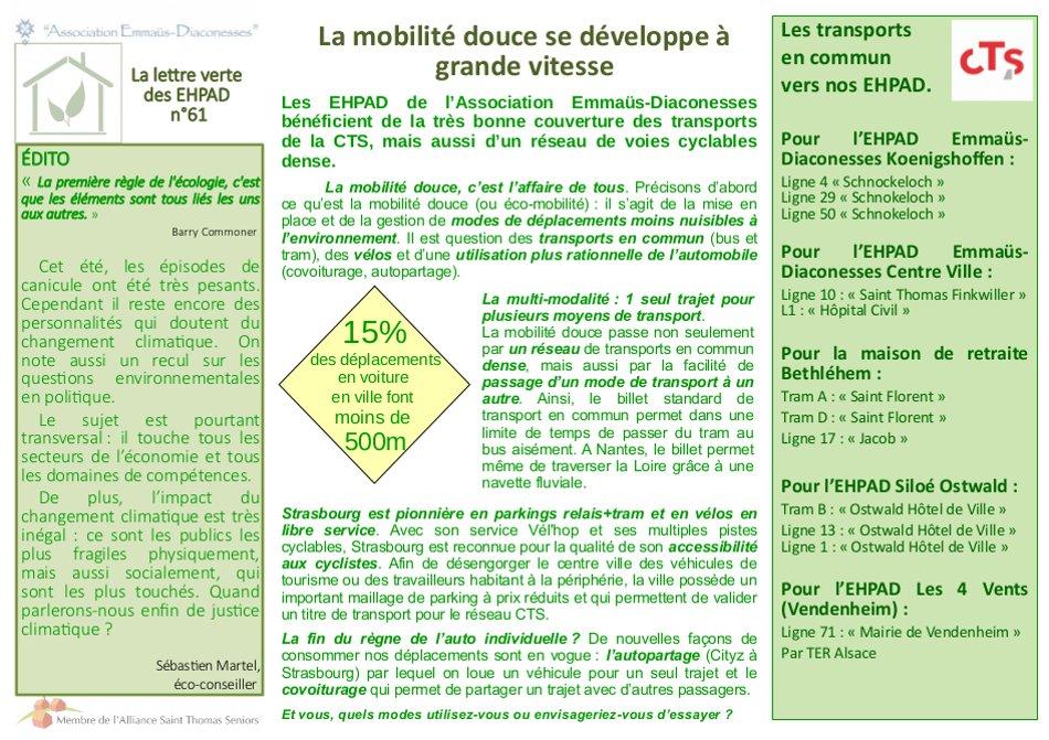 Mobilité douce Strasbourg