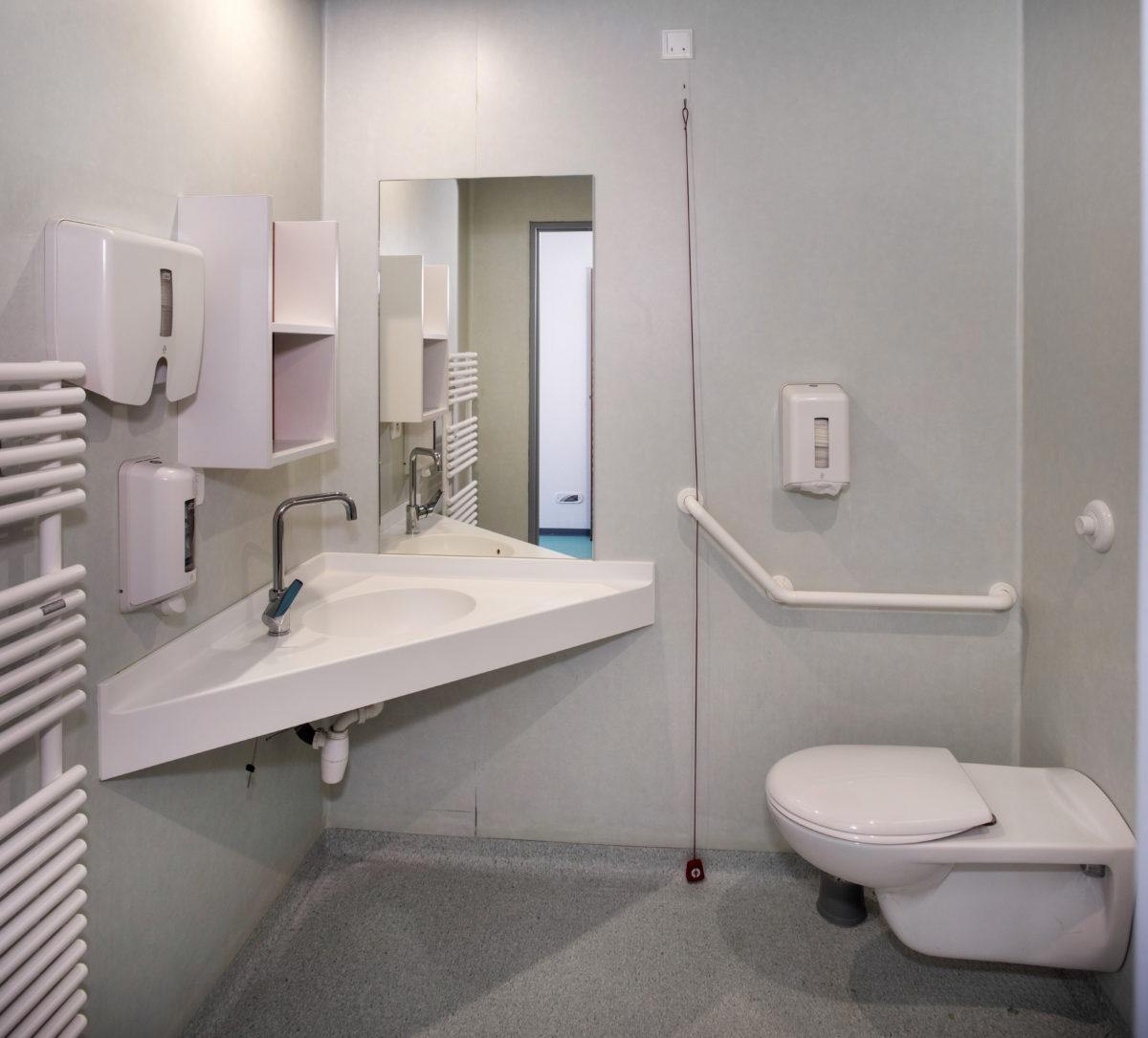 EHPAD Ostwald Siloé salle d'eau