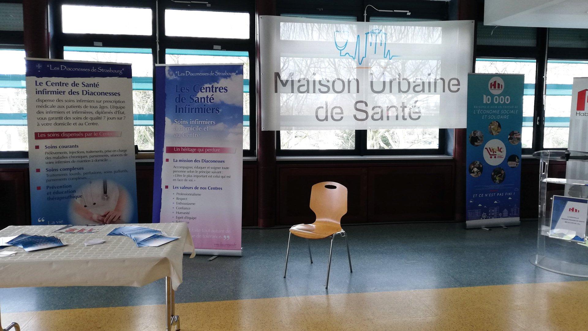 Centre de soin Maison urbaine de santé Strasbourg