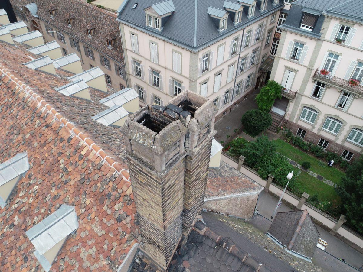 Rénovation du toit de la chapelle des Diaconesses